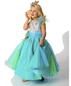 Disfraz Princesa del mar niña