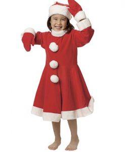 Disfraz niña Noel