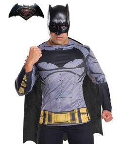Camiseta Batman ™ con capa y máscara adulto