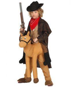 Disfraz de Cowboy a Caballo infantil