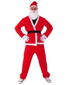 Disfraz Papa Noel adulto clásico