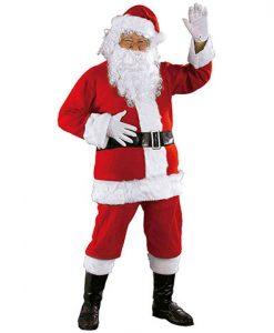 Disfraz Papa Noel lujo adulto