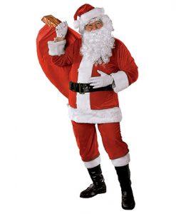 Disfraz Papa Noel premium adulto