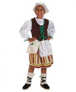 Disfraz de Pastora clásica niña