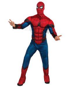 Disfraz Spiderman musculoso adulto HC
