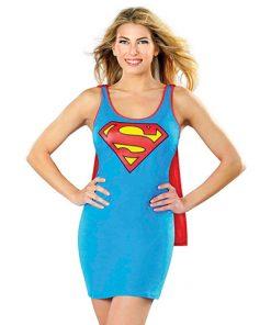 Disfraz vestido Supergirl
