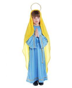Disfraz Virgen María niña