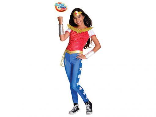 Disfraz Wonder Woman niña Deluxe