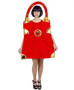 Disfraz bolso rojo