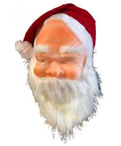 Máscara Papa Noel con capucha infantil