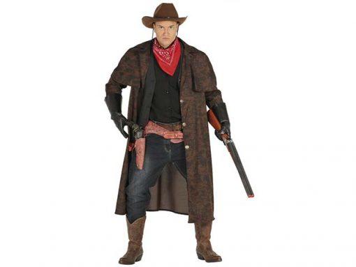 Disfraz Abrigo Cowboy adulto