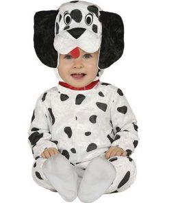 Disfraz dálmata Louis bebé