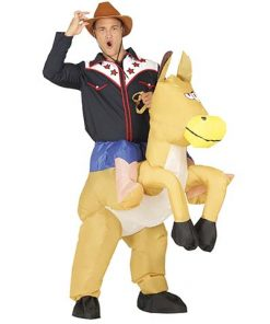 Disfraz Cowboy hinchable adulto