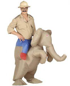Disfraz Elefante hinchable