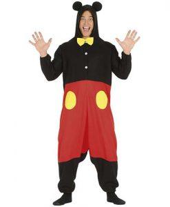 Disfraz ratón Mickey adulto
