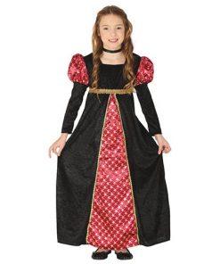 Disfraz Dama Medieval Serena infantil