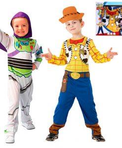 Set disfraz Toy Story