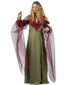 Disfraz Druidesa Medieval Eveline