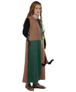 Disfraz Sobrevesta Medieval Mujer