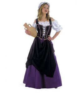 Disfraz de Tabernera Medieval Eda
