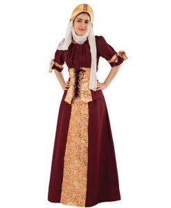 Disfraz Dama Medieval Blanca de Navarra