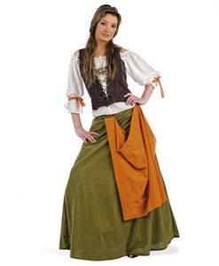 Disfraz Tabernera Medieval Agnes