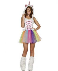 Disfraz Unicornio tutú chica