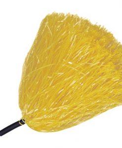 Pompón Amarillo de rafia