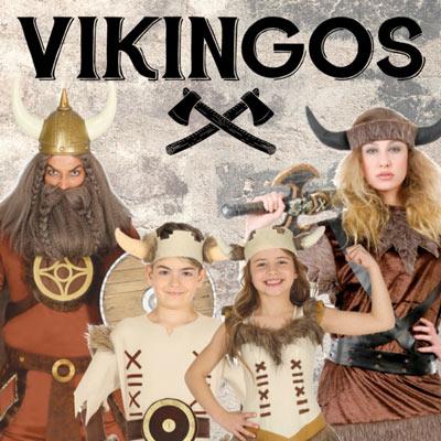 Disfraces de vikingos y Vikingas