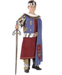 Disfraz Rey Arturo niño
