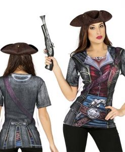 Camiseta de Pirata Chica