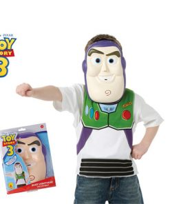 Disfraz Buzz Lightyear, Set camiseta y máscara