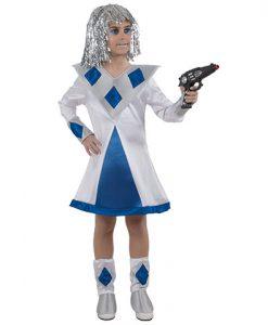 Disfraz de Galáctica para niña