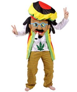 Disfraz de Rastafari Bob Marley