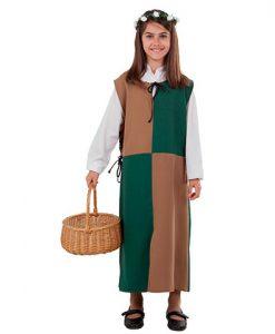 Disfraz Sobrevesta Medieval niña