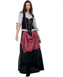 Disfraz Tabernera Medieval Ines