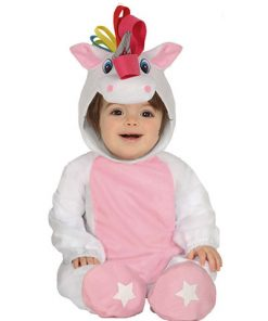 Disfraz Unicornio Rosa para bebé