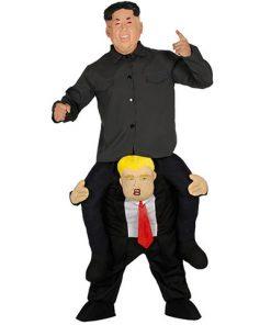 Disfraz a hombros de Presidente Trump