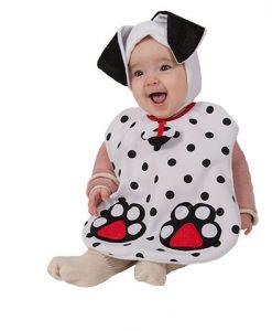 Disfraz Babero Dálmata bebé
