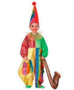 Disfraz de Payaso Gaby para niño