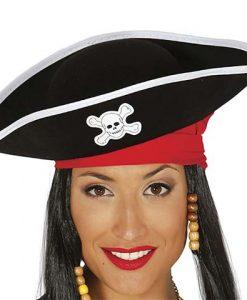 Sombrero Pirata Mujer