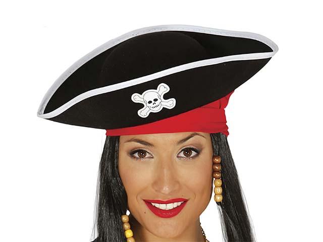zapatos de temperamento gran venta precios de liquidación Sombrero Pirata Mujer de Fieltro - Disfraces No solo fiesta