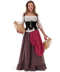 Disfraz Tabernera Medieval Eliana