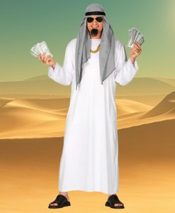 Disfraz de Jeque Árabe adulto
