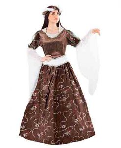 Disfraz de Reina Medieval Sancha mujer