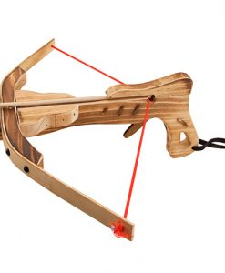 Ballesta de madera medieval
