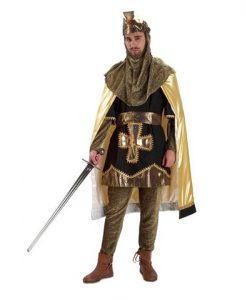 Disfraz de Rey Medieval Aldis