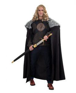 Disfraz de Vigilante del Muro adulto - Capa de John Snow