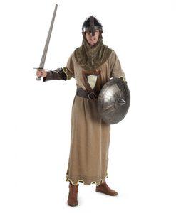 Disfraz Soldado Medieval marrón