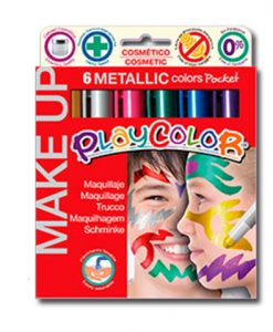 Maquillaje Playcolor Metallic